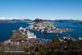 Photo: Ålesund, the jugend town