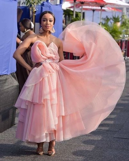 Dineo Moeketsi at the 2017 Durban July