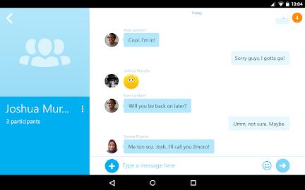 Skype - free IM & video calls Screenshot 16