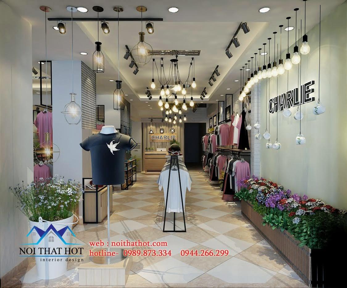 thiết kế shop thời trang nữ đẳng cấp, đẹp lạ