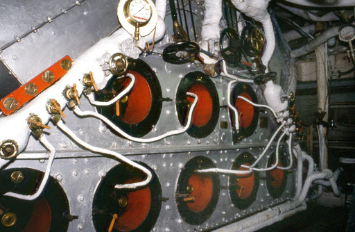 View of HMS Cavalier - Engine Room (1)