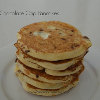 Easy Chocolate Chip Pancakes