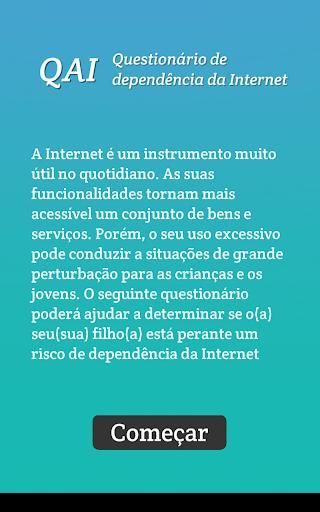 Quiz dependencia da Internet
