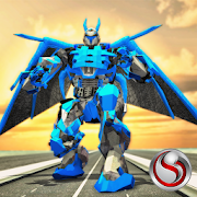 Dragon Robot Warrior Transformation Battle