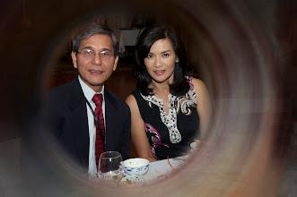 Photo: LS Nguyễn Duy Tiếp và phu nhân