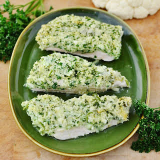 Chicken With Cauliflower, Parsley And Parmesan.