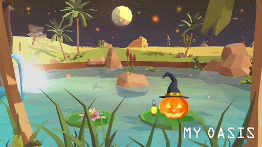 My Oasis - Calming and Relaxing Incremental Game  screenshots 1