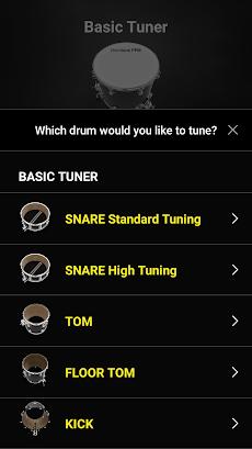 DrumtunePRO |ドラムチューナー>簡単に調律のおすすめ画像4