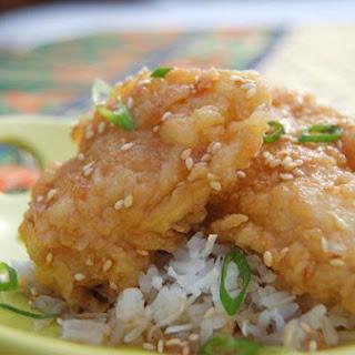 Korean Candy Chicken.