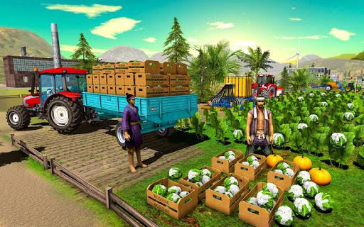 Farming Simulator Game 2018 u2013 Real Tractor Drive 1.4 screenshots 7