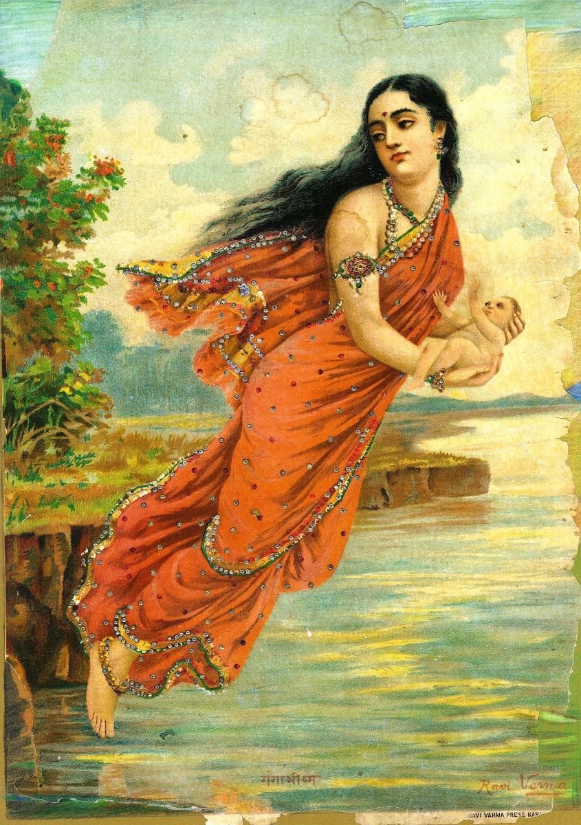 Ganga Bhishma Ravi Varma Press Karli Bombay Google Arts Culture