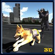 Police Dog Sniffing Criminals