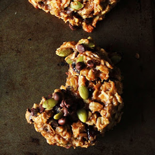 Bowl of Oatmeal Healthy Hearty Breakfast Cookies (gluten free and vegan!).