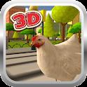 Chicken Run Simulator 3D Free icon