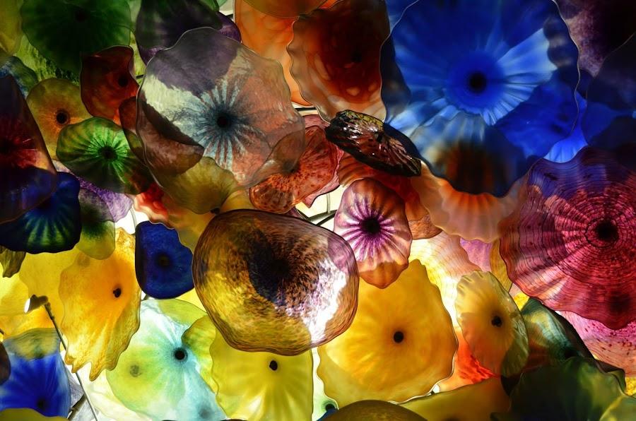 Glass Unbrella by Chung Chu - Abstract Fine Art