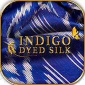 Indigo Dyed Silk