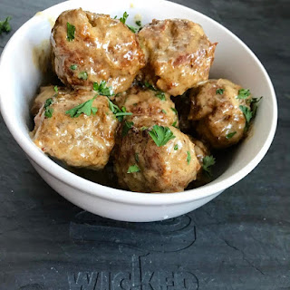 Keto Swedish Meatballs.