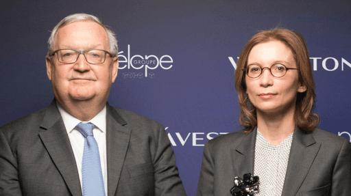 Patrick Artus et Mathilde Lemoine