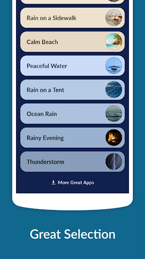 Rain Sounds - Sleep & Relax 3.3.1 screenshots 2