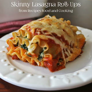 Skinny Lasagna Roll Ups
