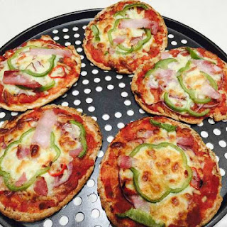 Home Made Pizza In A Flash.