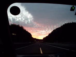 Photo: 朝5時前に出発