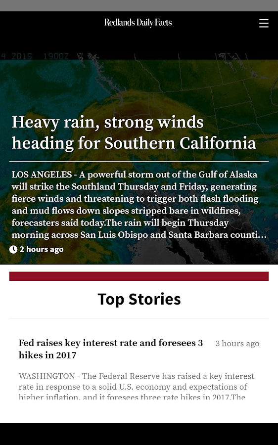Redlands Daily Facts- screenshot
