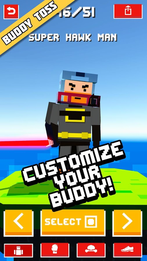 Buddy Toss Ragdoll Flick Game- screenshot