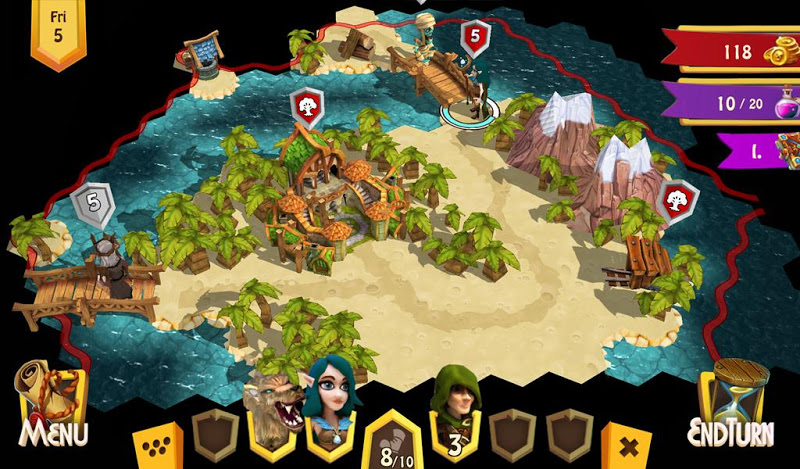 Heroes of Flatlandia Screenshot 10