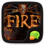 (FREE) GO SMS PRO FIRE THEME 3.1.2 Apk