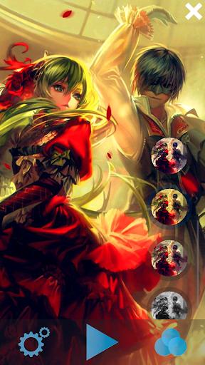 Anime Couple Live Wallpaper 2.8 screenshots 2