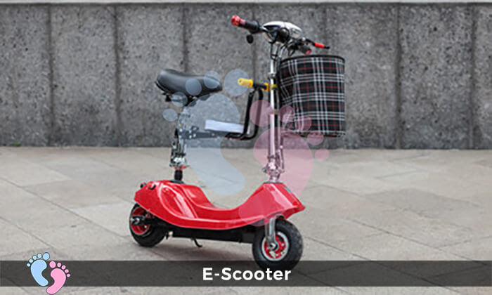 Xe điện E-Scooter mini gấp gọn 12