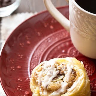 Puff Pastry Cookie Dough Cinnamon Rolls (Small Batch).