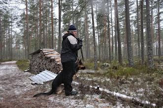 Photo: Torhild og Bjørnulvs Second Chance (Caos) er klare til rundering