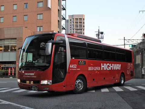 JR九州バス「広福ライナー」 4452 博多バスターミナルにて