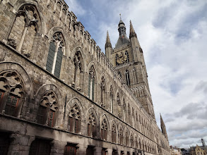 Photo: Flanders Fields Museum in the Old Cloth Hall building