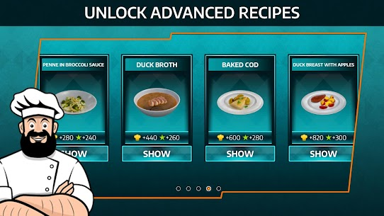 Cooking Simulator Mobile Mod Apk: Kitchen (Unlimited Diamond) 1.54 5