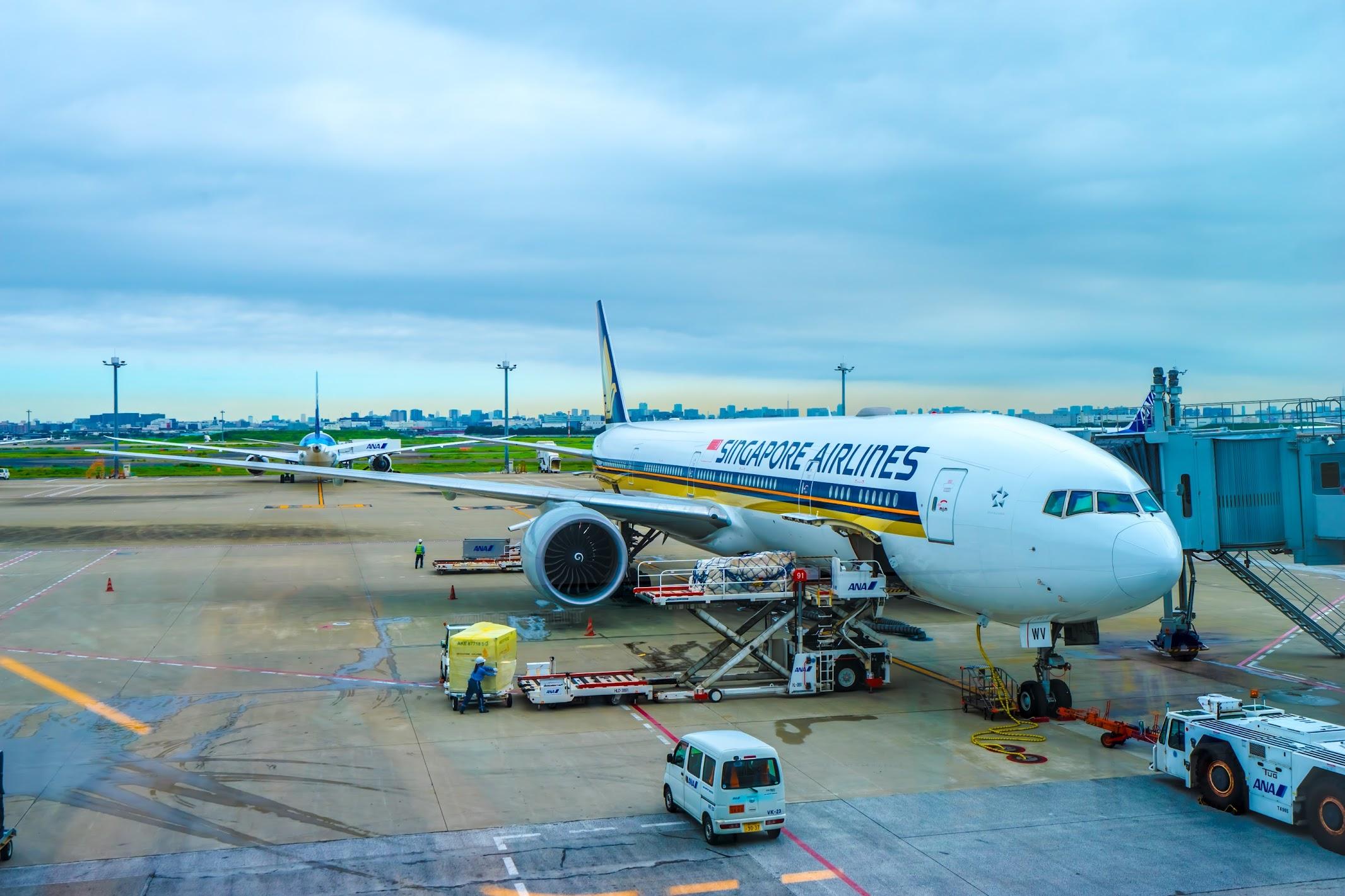 羽田空港 シンガポール航空2