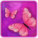 Pink Butterfly Wallpaper icon