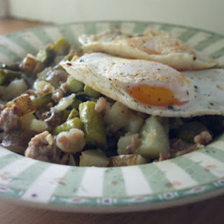 Asparagus Skillet with Egg