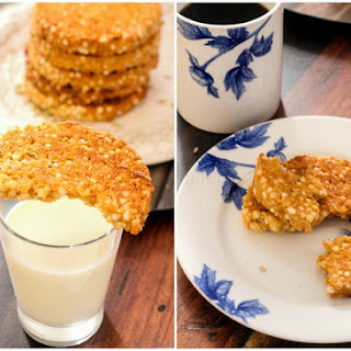 Savboro – Sri Lankan Sago Coconut Cookies.