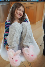 Photo: Stride-Rite fuzzy bunny slippers from Costco