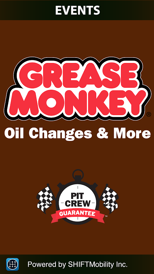 Grease Monkey Events- screenshot