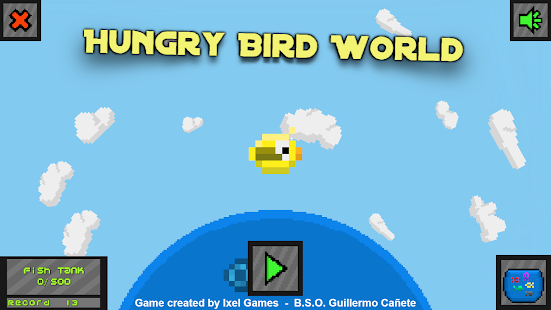 Hungry Bird World - náhled