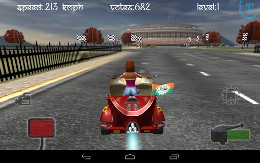 Race City Delhi- Rickshaw Rush screenshot 24