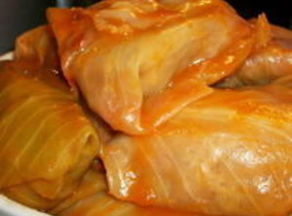 Halupki  (slovak Stuffed Cabbage)