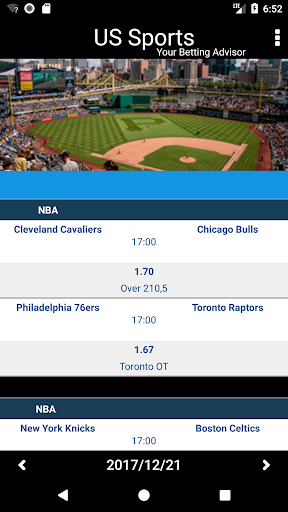 Betting Tips & Picks for USA Sports Daily Analysed photos 2