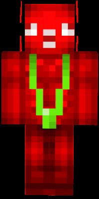 Club Numb mascot wearing a green mankini