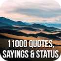 11000 Quotes, Sayings & Status icon