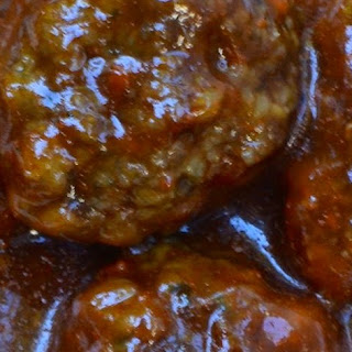 Barbecued Meatballs.